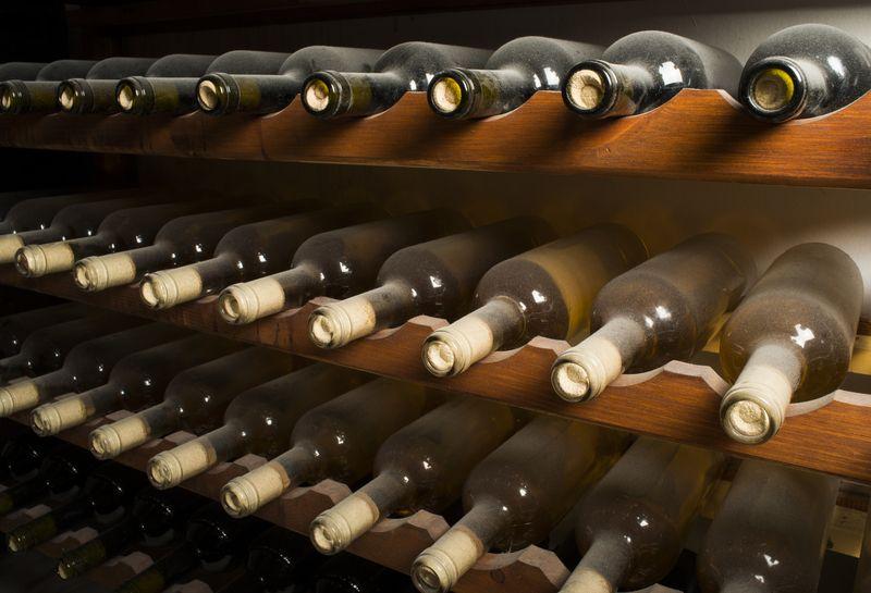 Ein schöner Weinkühlschrank