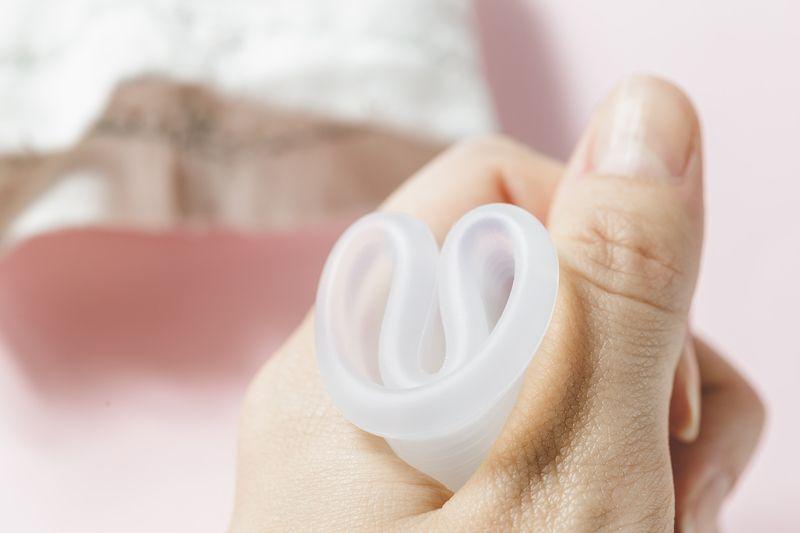 Hygiene-Artikel, die während der Periode den Unterschied machen